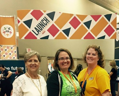 KISD School Board Member and SLS Presenter - Rebecca Fox, Katy Council President - Laura Freeman, Patsy Ledezma