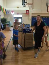 School Supply Delivery - Hayes Elem. PTA
