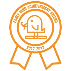 Early Bird Achievement Award.17.18